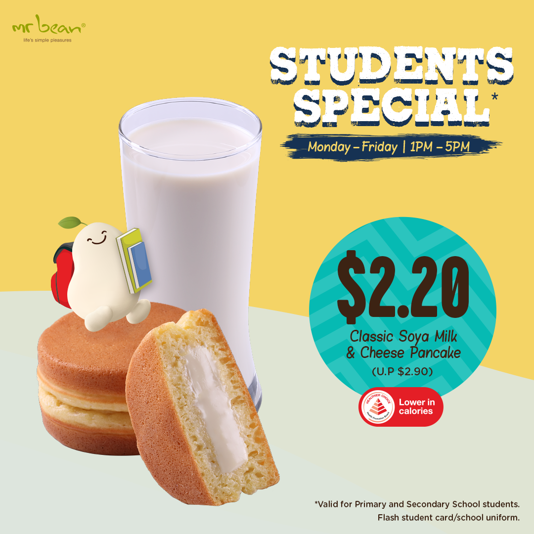 Mr Bean Students Special - Deals as low as $2! | Why Not Deals & Promotions