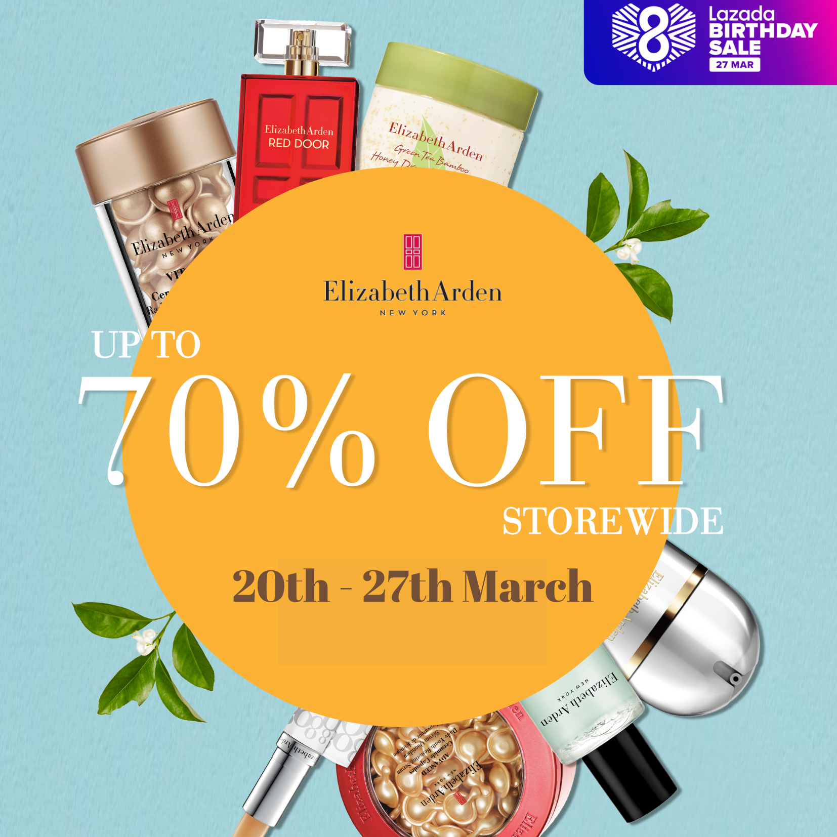 Elizabeth Arden: Up to 70% OFF on Lazada from now till 27th March | Why Not Deals & Promotions