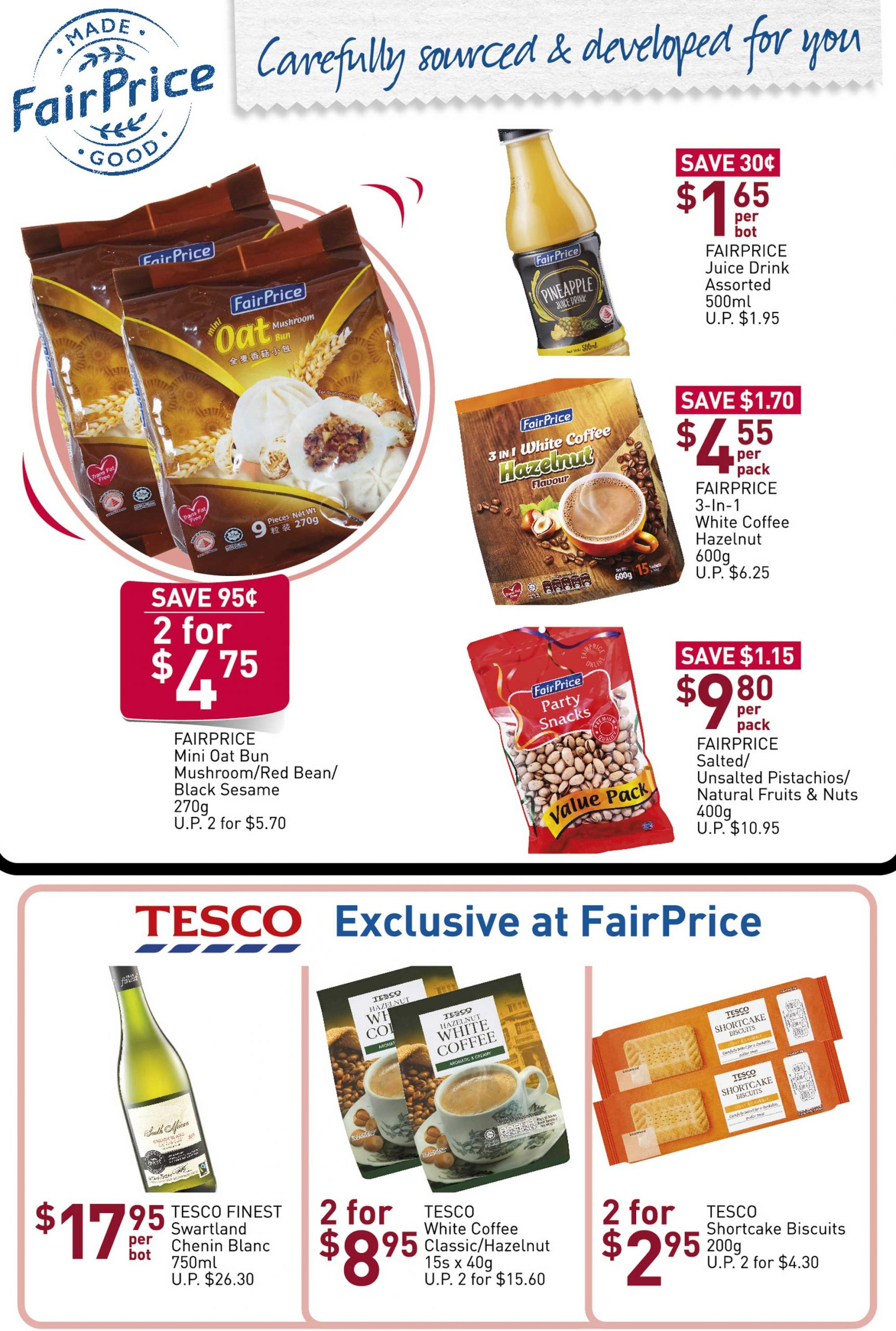 NTUC FairPrice SG Your Weekly Saver Promotion 26 Mar - 1 Apr 2020 | Why Not Deals 9 & Promotions
