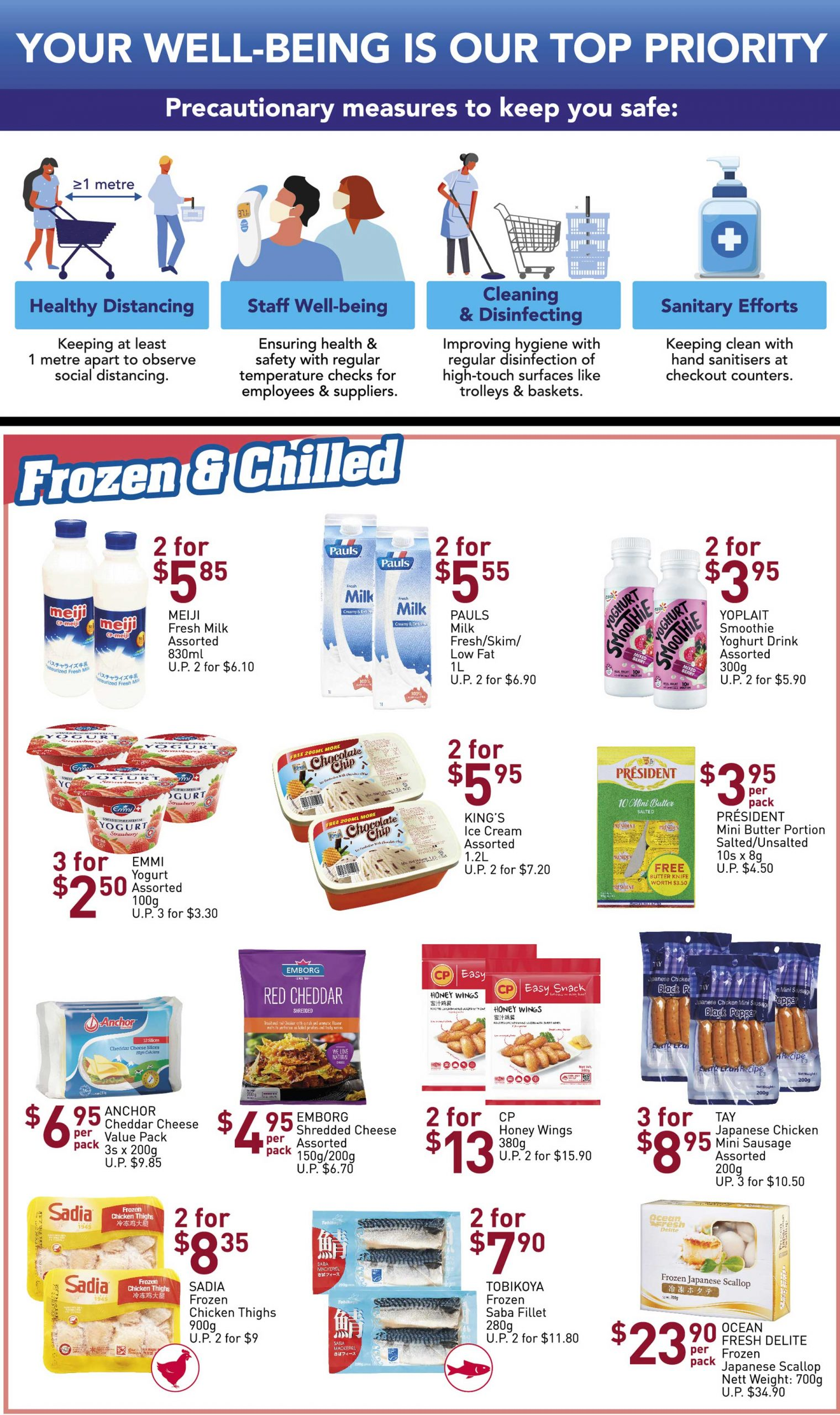 NTUC FairPrice SG Your Weekly Saver Promotion 26 Mar - 1 Apr 2020 | Why Not Deals 10 & Promotions