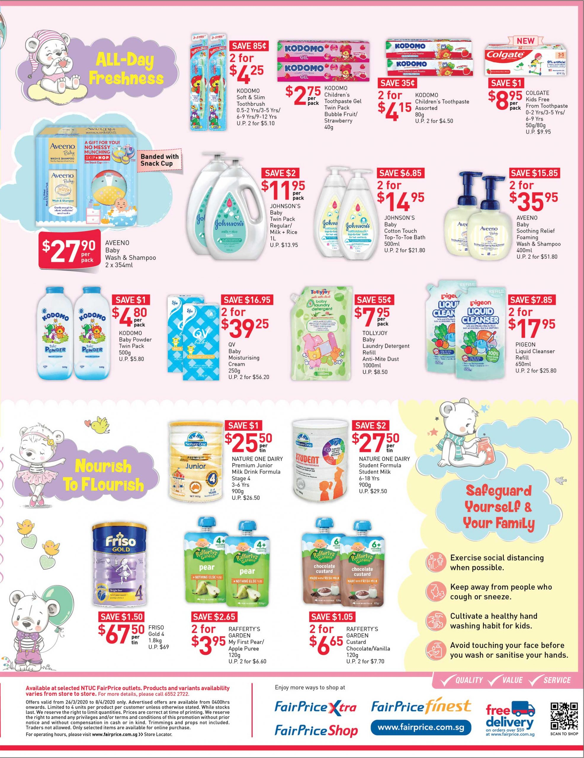 NTUC FairPrice SG Your Weekly Saver Promotion 26 Mar - 1 Apr 2020 | Why Not Deals 6 & Promotions