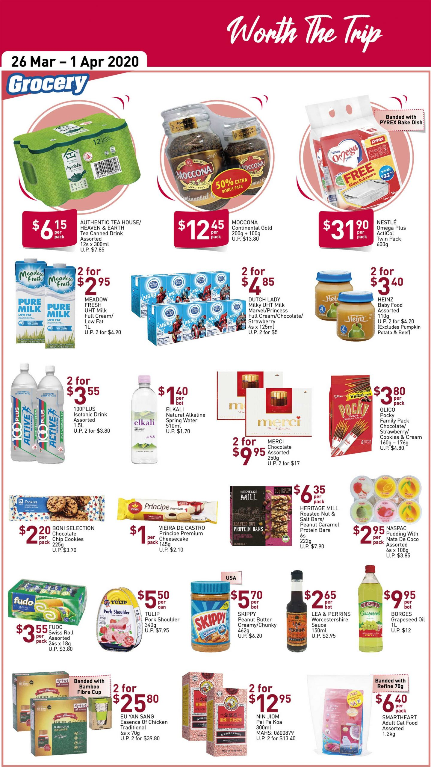 NTUC FairPrice SG Your Weekly Saver Promotion 26 Mar - 1 Apr 2020 | Why Not Deals 7 & Promotions
