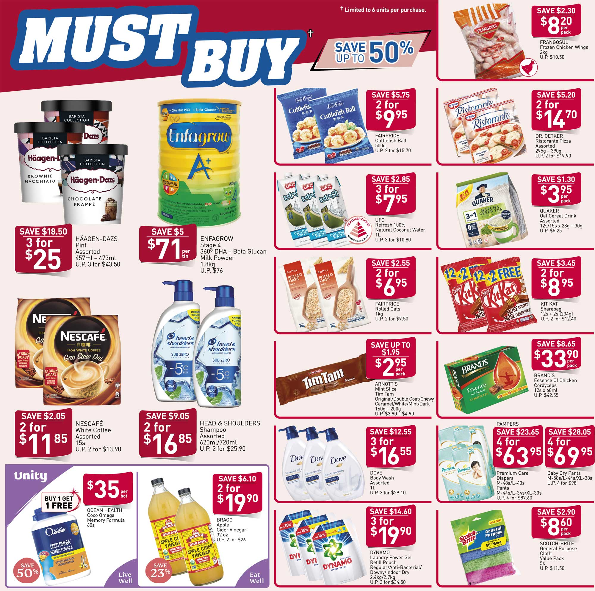 NTUC FairPrice SG Your Weekly Saver Promotion 26 Mar - 1 Apr 2020 | Why Not Deals & Promotions