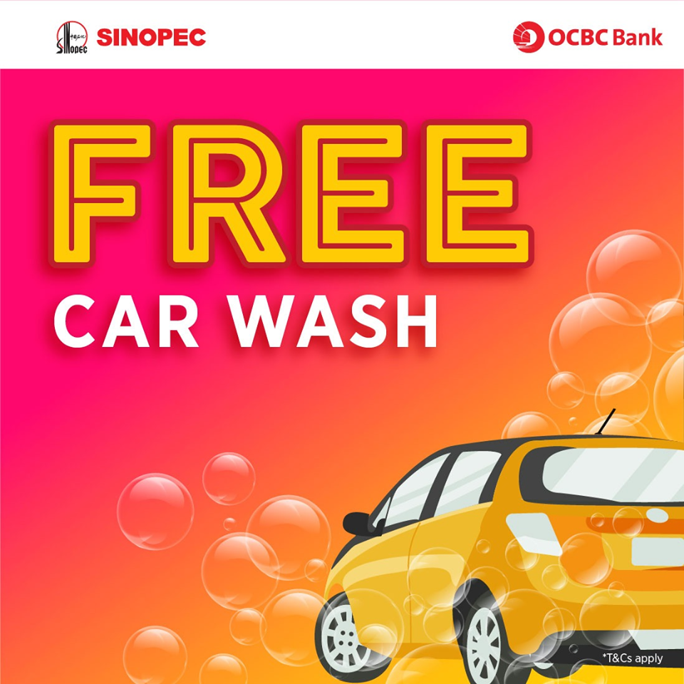Sinopec Bukit Timah FREE Car Wash Promotion ends 31 Mar 2020 | Why Not Deals & Promotions