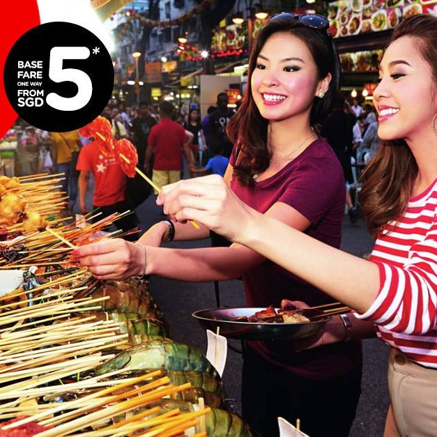 AirAsia Feast Like a Local at Various Destinations from $5 ends 15 May 2016