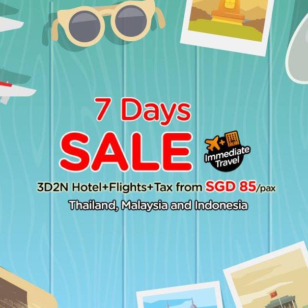 AirAsiaGo Singapore 7 Days Sale 3D2N SGD 85 per Pax 30 May to 5 Jun 2016