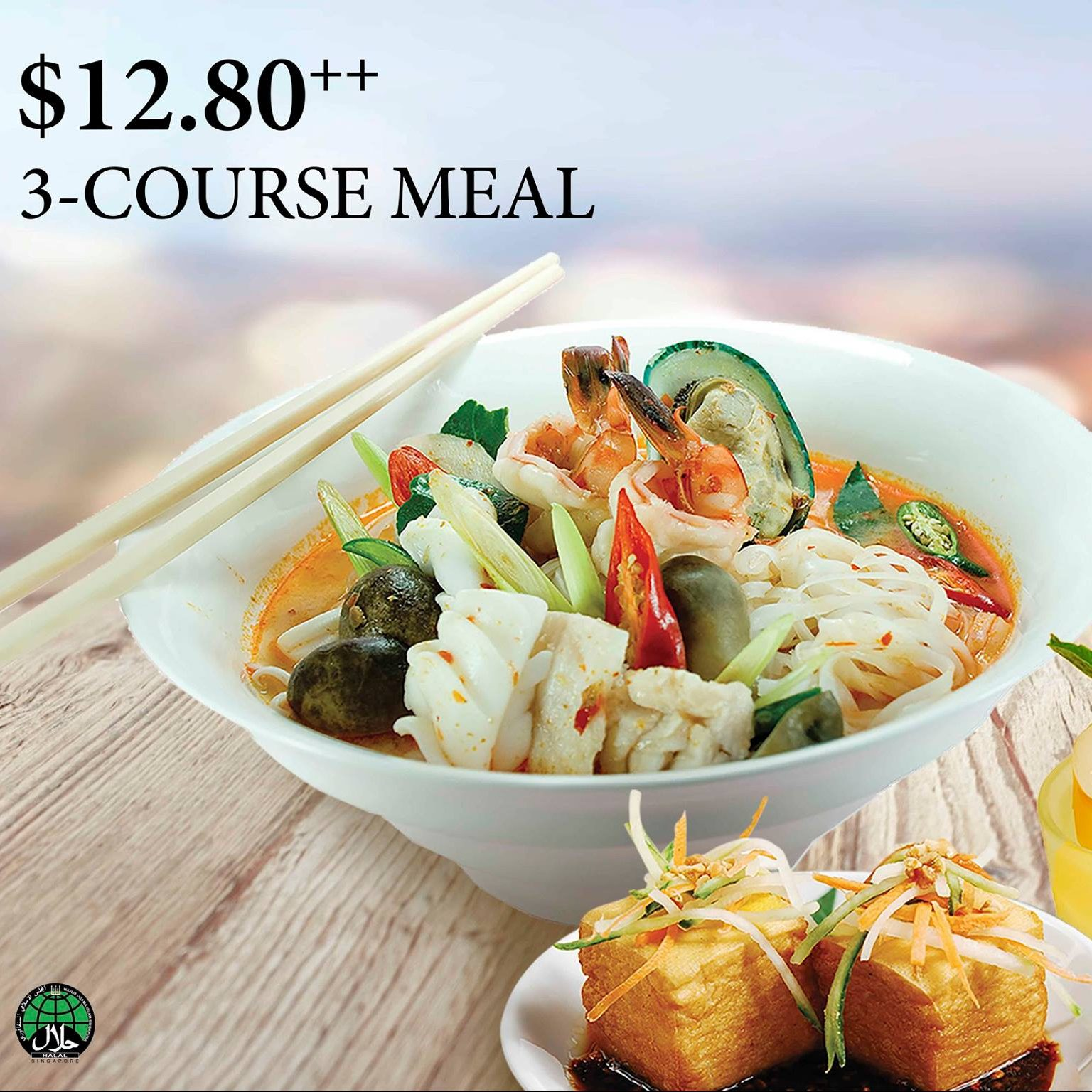 Bali Thai Weekday Specials at $12.80 ends 31 May 2016