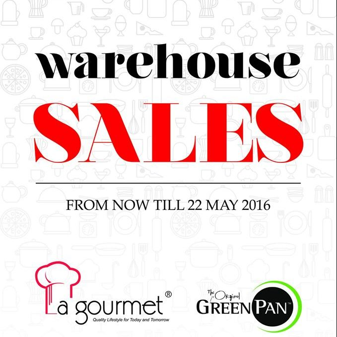 Big Box Warehouse Sales Ends 22 May 2016
