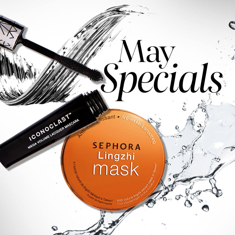 Sephora May Specials Online Exclusive Premium Gift till 31 May 2016