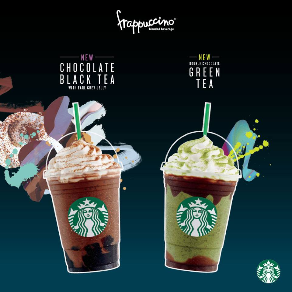 Starbucks Chocolate & Tea 1 For 1 30 May to 3 Jun 2016