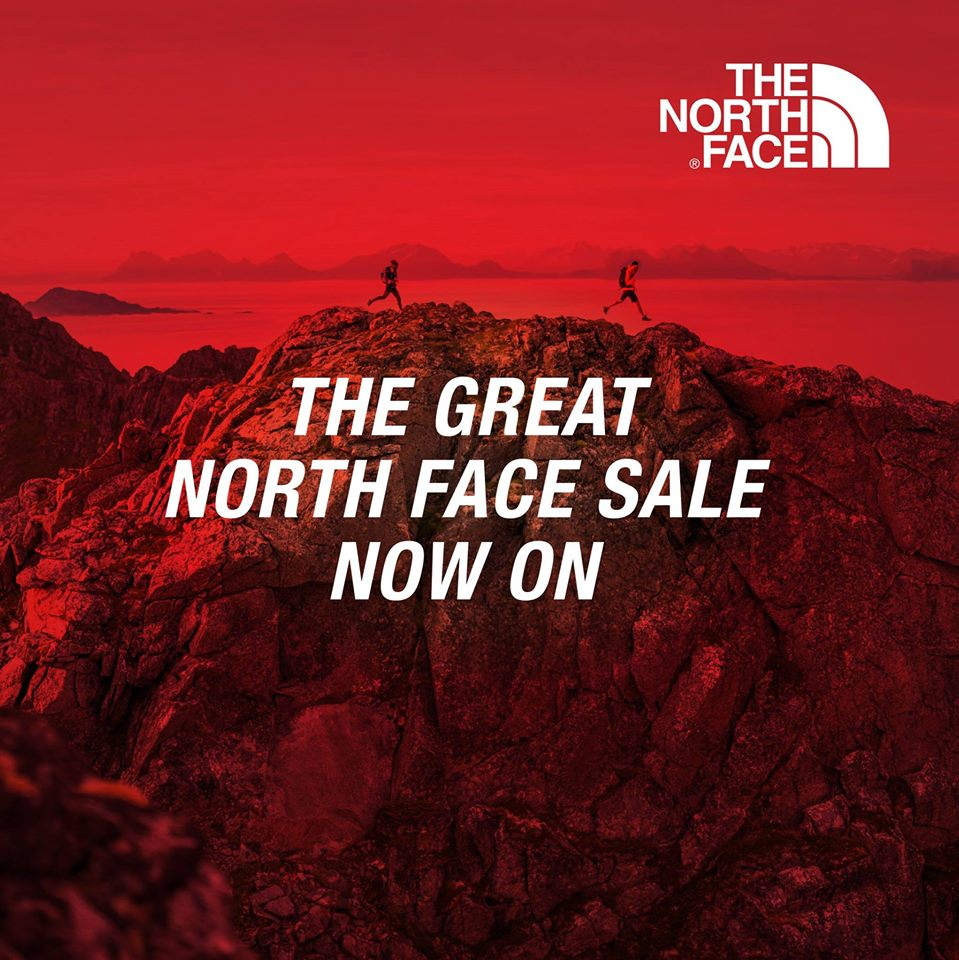 The Great North Face Sale Now On Up to 60% Off
