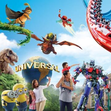 Universal Studios Singapore Flash Deal 21 to 28 May 2016
