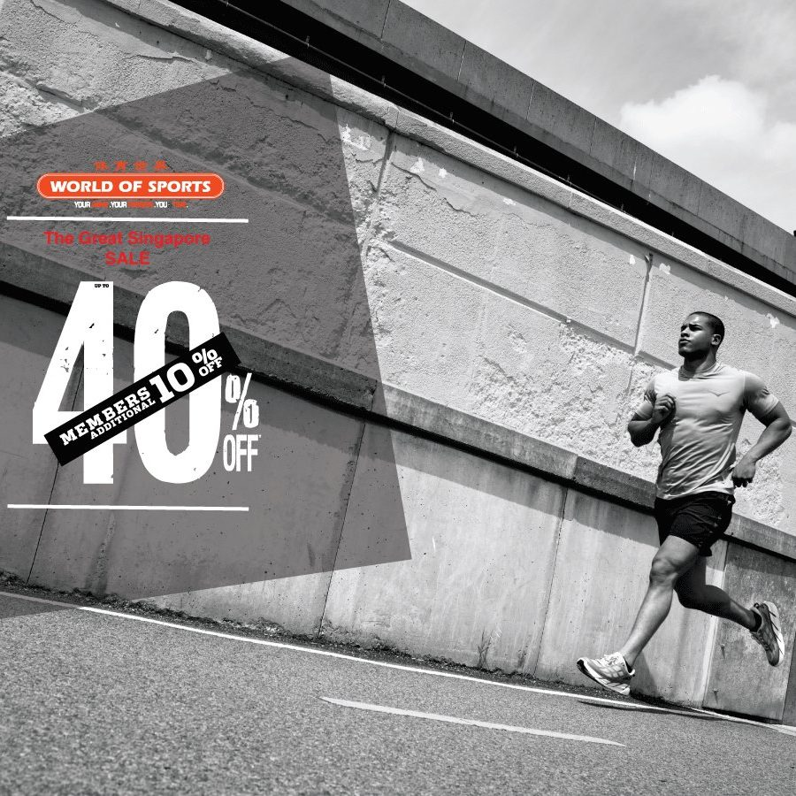 World of Sports Singapore GSS Up to 50% Off