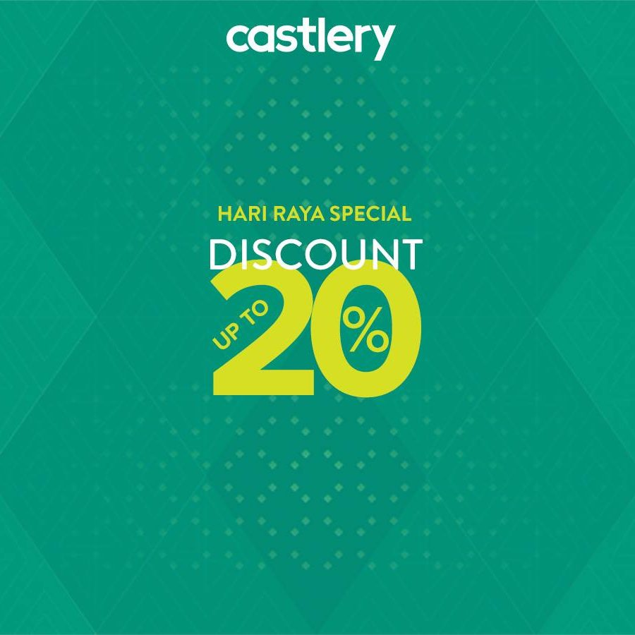 Castlery SG Hari Raya Special Up to 20% Off