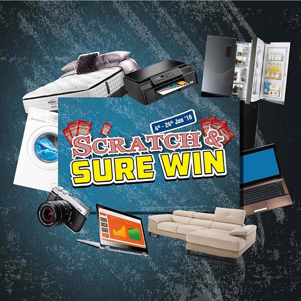 Harvey Norman SG Scratch Sure Win 4 to 24 Jun 2016