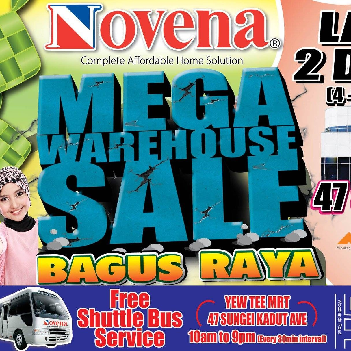Novena SG Mega Warehouse Sale 4 to 5 Jun 2016