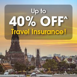 NTUC Income Up to 40% Off Travel Insurance 1 to 14 Jun 2016