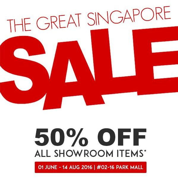 SHAPE the forms SG GSS 50% Off All Showroom Items 1 Jun to 14 Aug 2016