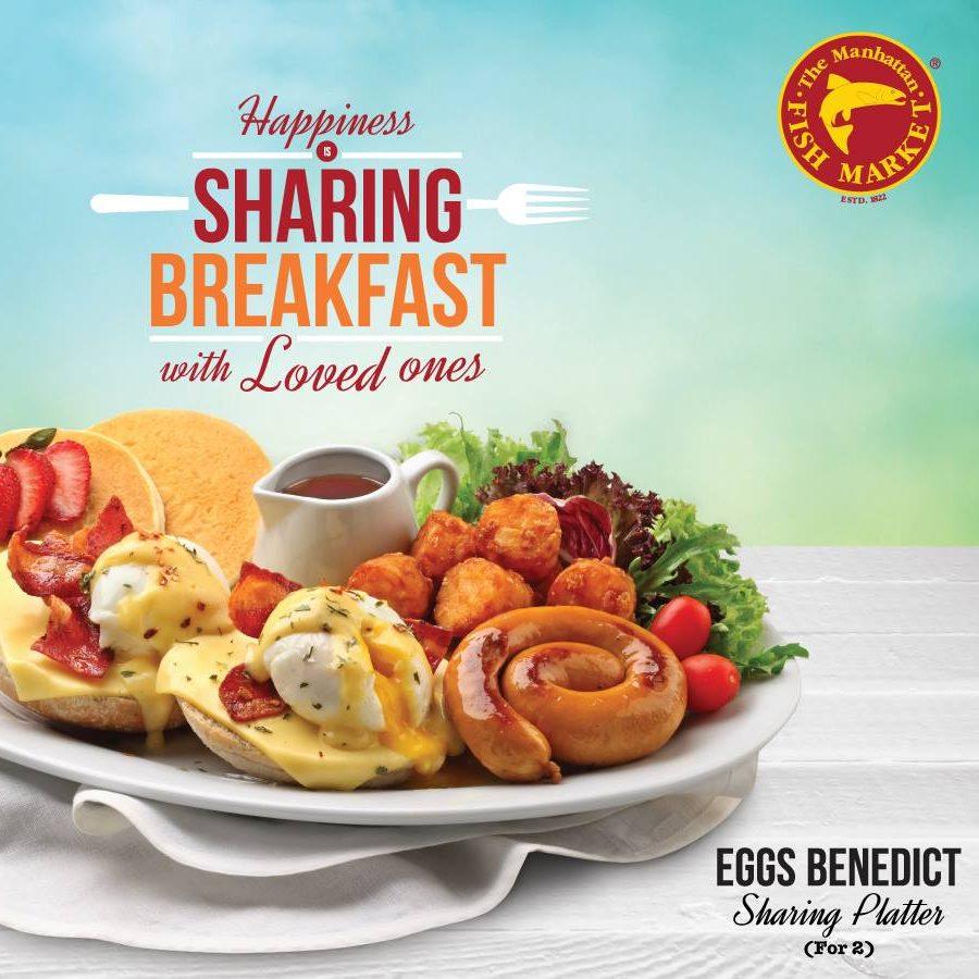 The Manhattan Fish Market SG $5 Off Breakfast Sharing Platters