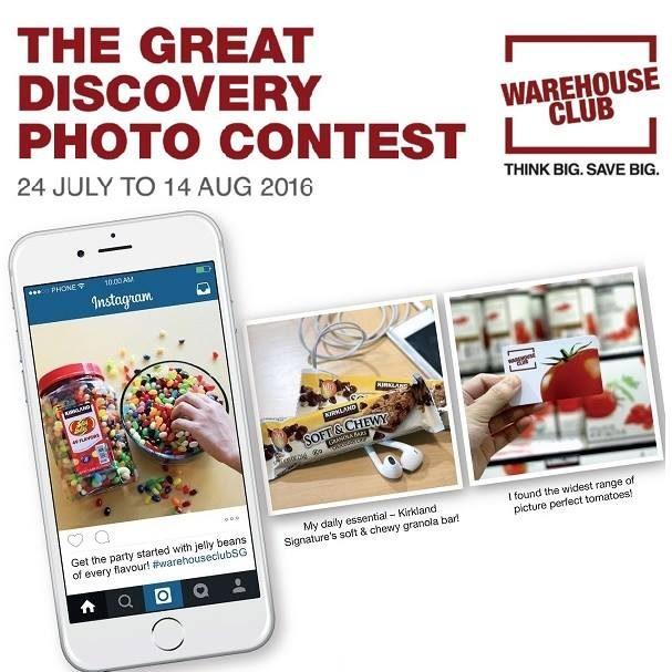 NTUC Singapore Warehouse Club Photo Contest 24 Jul to 14 Aug 2016