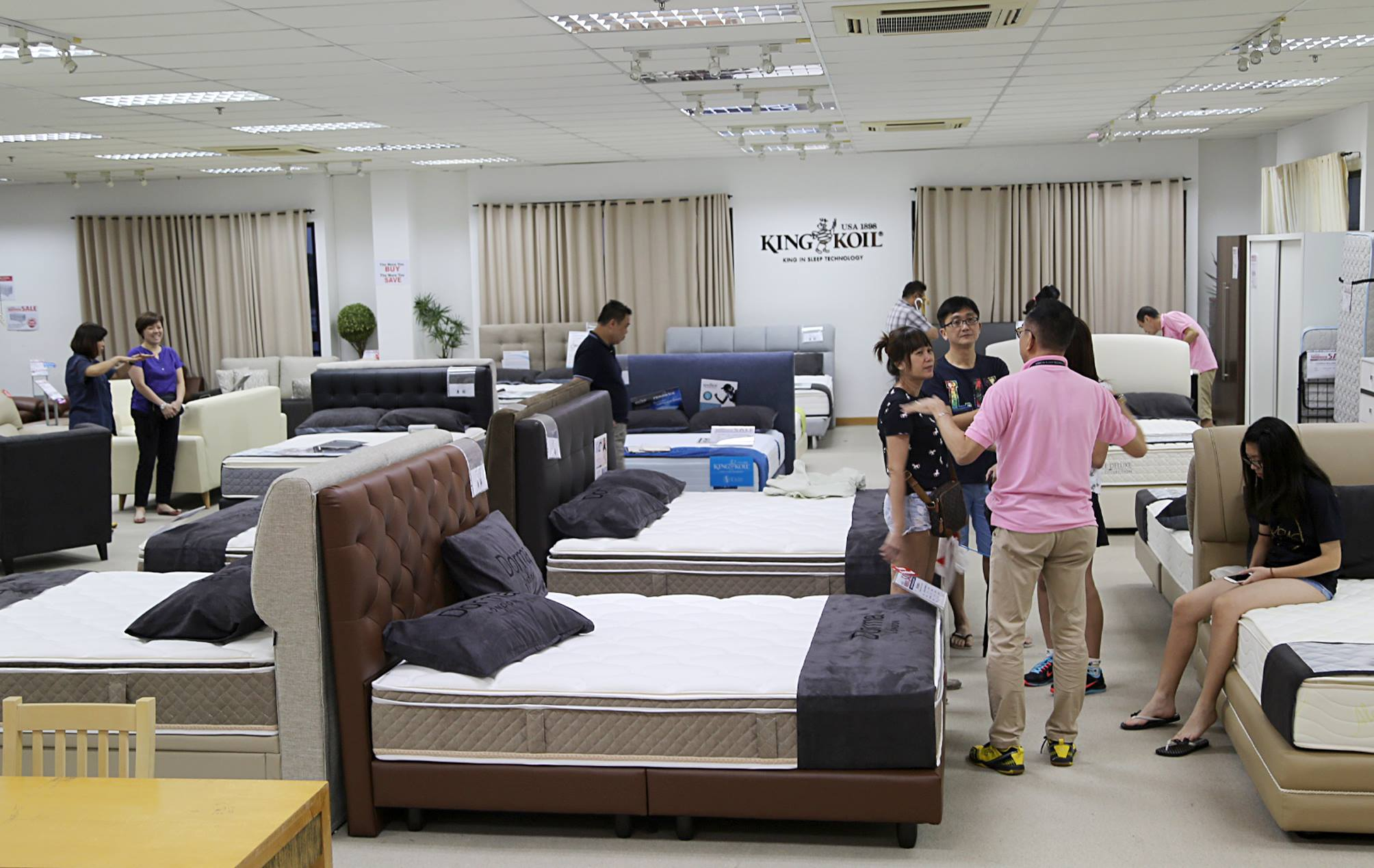 King Koil Singapore Warehouse Sale 2016 Promotion From 2