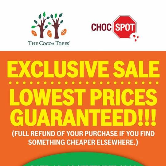 The Cocoa Trees Singapore Bazaar at L9 BreadTalk IHQ Promotion 13 to 23 Sep 2016