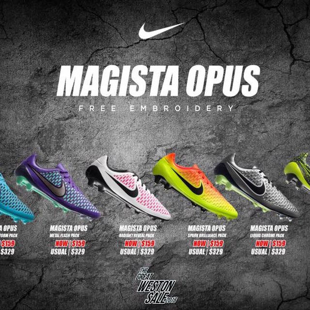 compartir Amarillento galón  Weston Singapore Nike Magista Opus Sale Promotion 2 to 12 Sep 2016 | Why  Not Deals