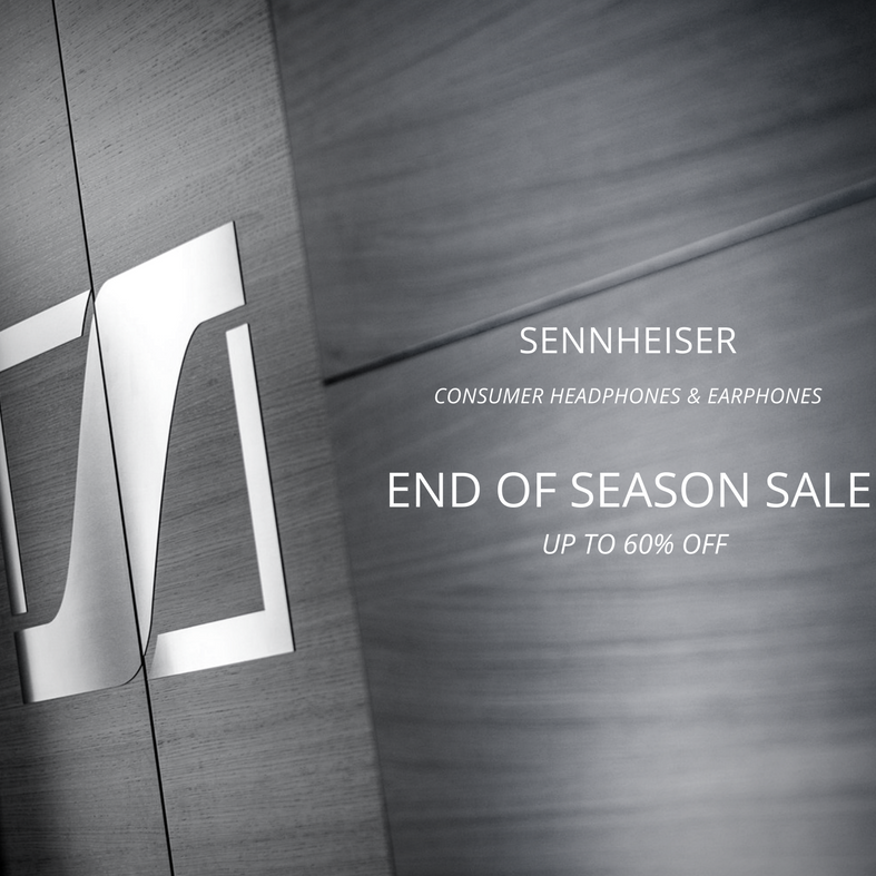 Sennheiser Singapore End of Season Sale Up to 60% Off Promotion 15 Oct 2016