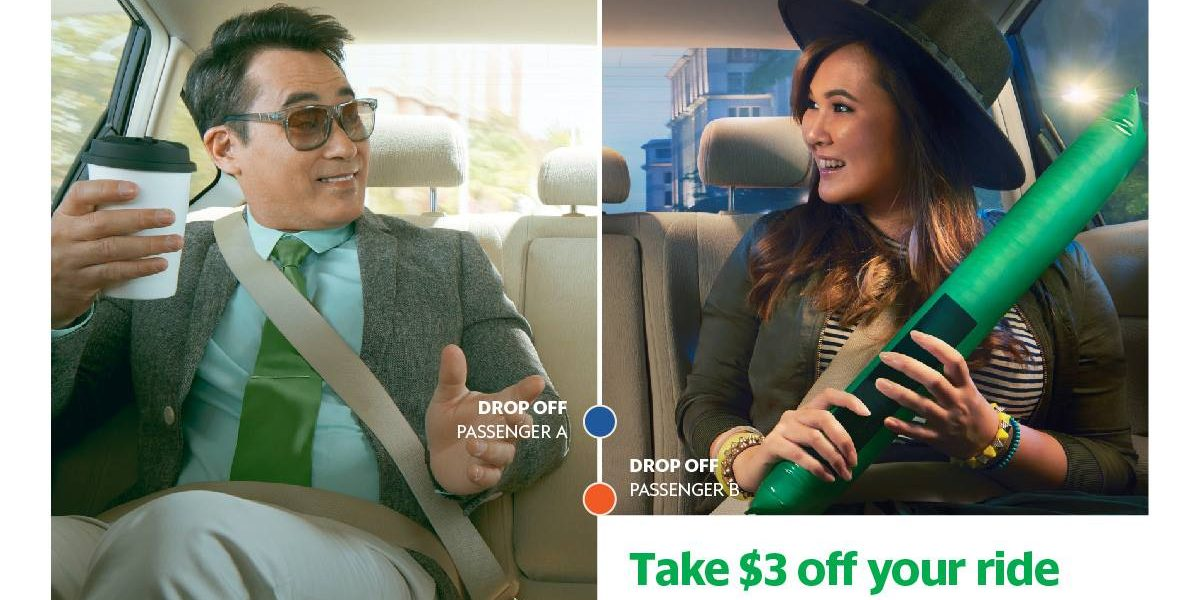 Grab Singapore Enjoy $3 Off GrabShare This CNY Promotion 30 Jan – 2 Feb 2017