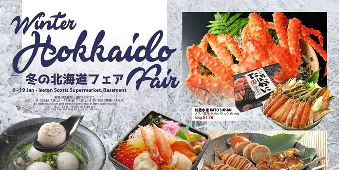 Isetan Singapore Hokkaido Fair is Back at Isetan Scotts Supermarket from 6-19 Jan 2017