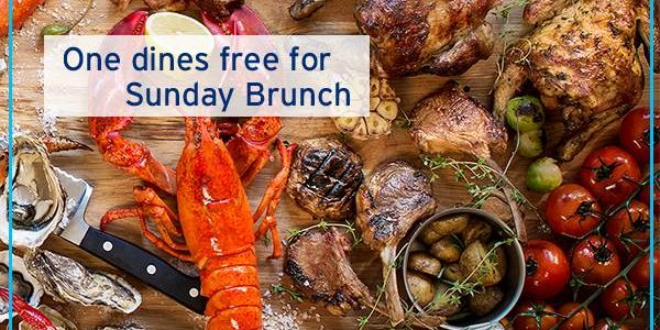 Citi Singapore One Dines Free for Sunday Brunch at Hilton Singapore Promotion ends 30 Apr 2017