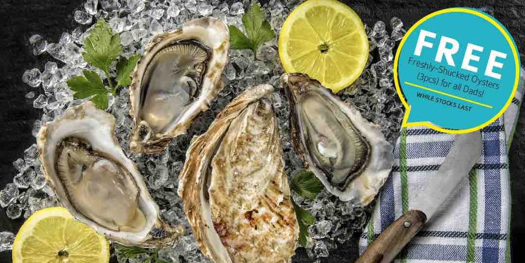 Momiji Japanese Buffet SG FREE Shucked Oysters Father's Day Promotion 16-18 Jun 2017