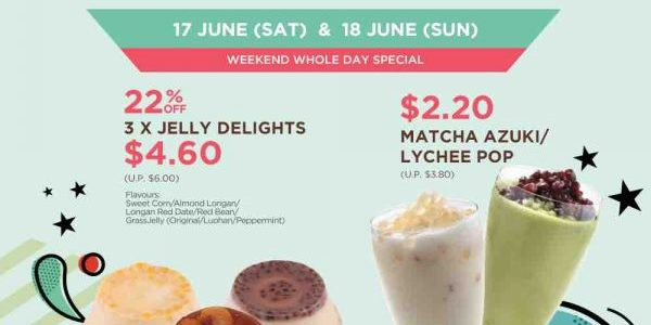 Mr Bean Singapore 22 Year of Goodness 22% Off Weekend Special Promotion 17-18 Jun 2017