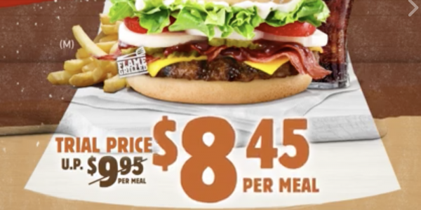 Burger King Flash Post to Enjoy Western Whopper at Trial Price 25 Aug – 7 Sep 2017