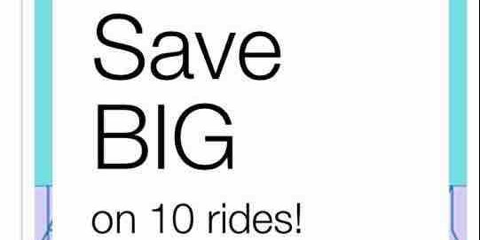 Uber Singapore$3 Off 10 uberX/uberPOOL Rides Promo Codes 16-19 Oct 2017