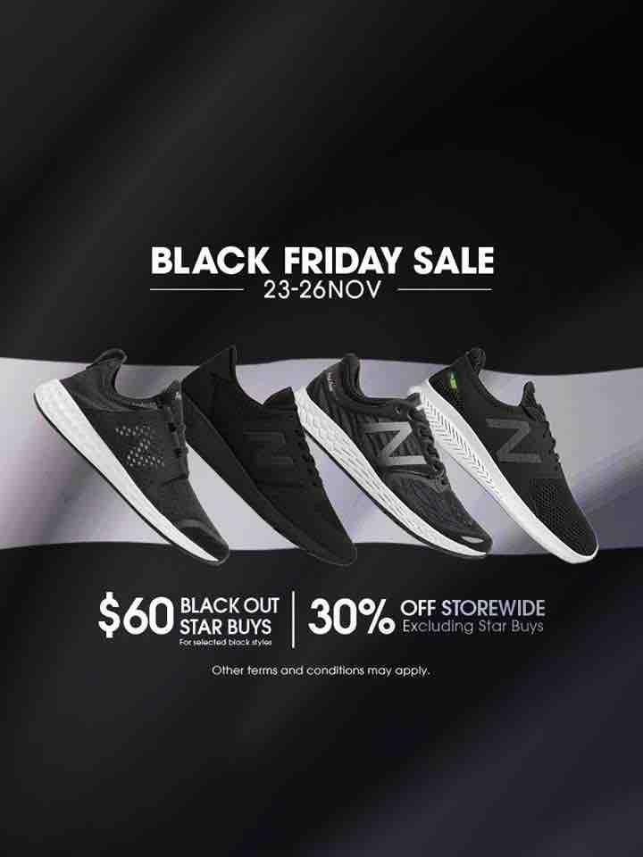 New Balance Singapore Black Friday Sale