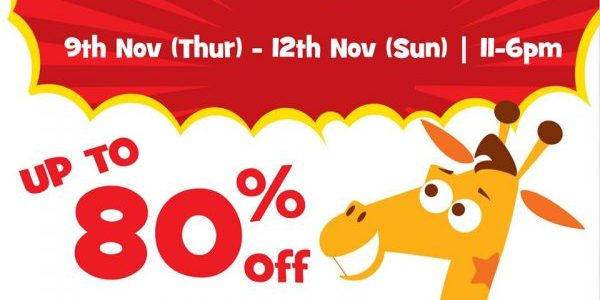 """Toys """"R"""" Us Singapore Weekend Outlet Sale Up to 80% Off Promotion 10-12 Nov 2017"""