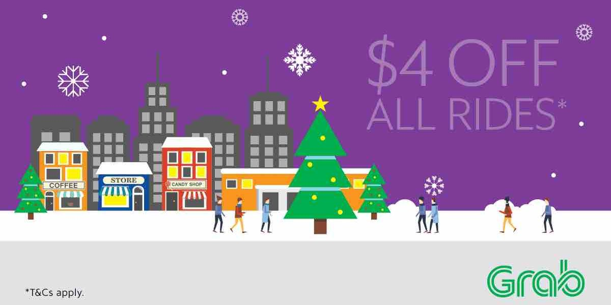 Grab Singapore $4 Off All Rides with TAKE4 Promo Code 11-17 Dec 2017