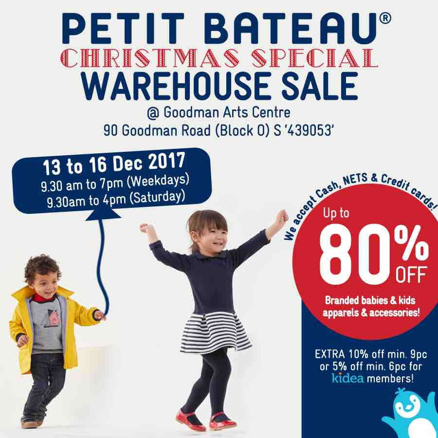 Petit Bateau Singapore 4-Days Christmas Special Warehouse ...