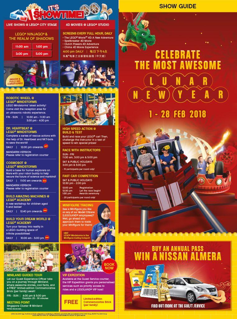 LEGOLAND® Malaysia Resort Lunar New Year Celebration from ...