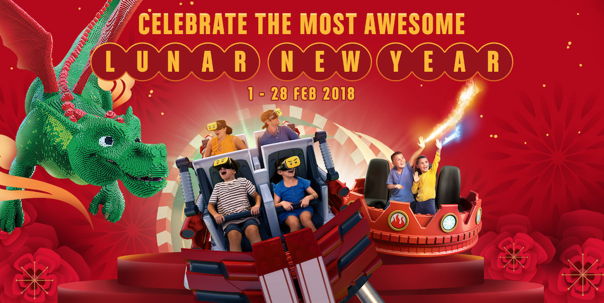 LEGOLAND® Malaysia Resort Lunar New Year Celebration from 1-28 Feb 2018