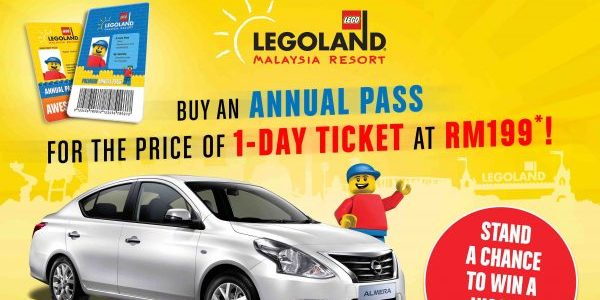 LEGOLAND Malaysia Annual Pass for the price of 1-Day Ticket this School Holiday