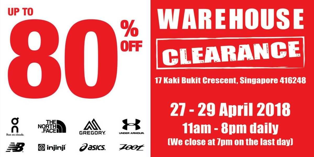 Running Lab Warehouse Clearance Sale Up