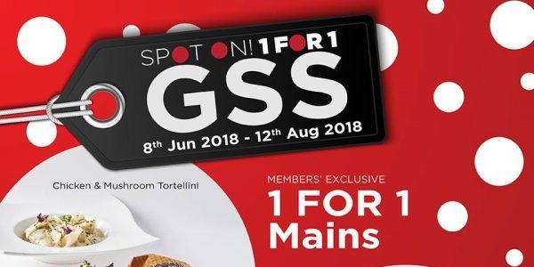TCC Singapore The Great Singapore Sale 1-for-1 & 50% Off Promotion 8 Jun – 12 Aug 2018