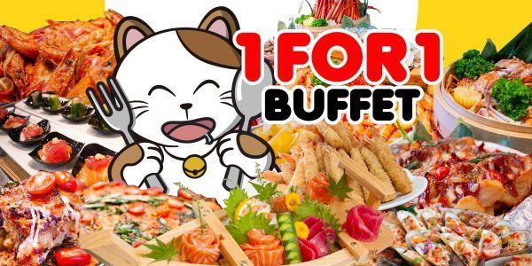 Karaoke Manekineko Singapore 1-for-1 Buffet Mania Promotion 26-27 Aug 2018