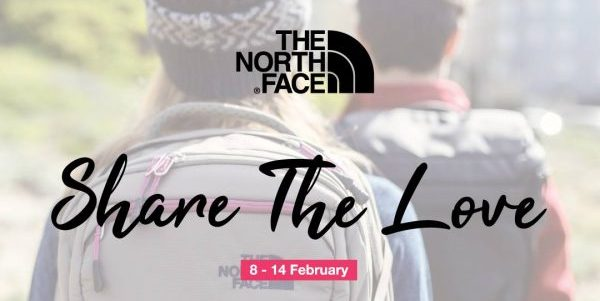 LIV ACTIV Singapore The North Face Valentine's Day Outlet Sale Up to 50% Off Promotion ends 14 Feb 2019