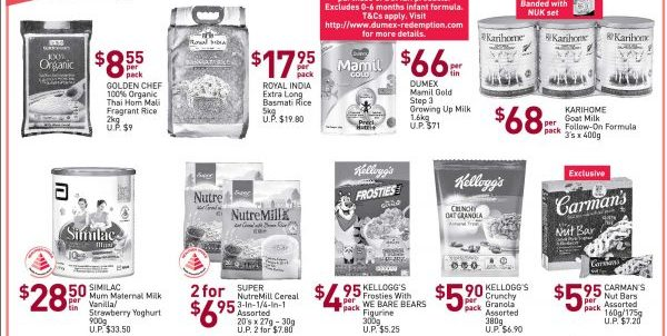 NTUC FairPrice Singapore Your Weekly Saver Promotion 13-19 Jun 2019