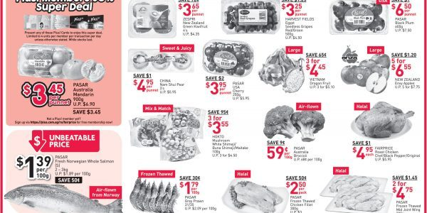 NTUC FairPrice Singapore Your Weekly Saver Promotion 18-24 Jul 2019
