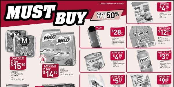 NTUC FairPrice Singapore Your Weekly Saver Promotion 4-10 Jul 2019