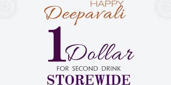 AnswerTea.sg Celebrates Deepavali with $1 on 2nd Drink Promotion 25-28 Oct 2019